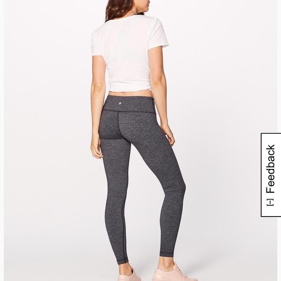 625c28811 lululemon athletica Pants - LULULEMON black speckled leggings